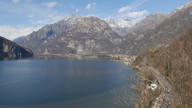 Pian di Spagna Natural reserve in Valchiavenna